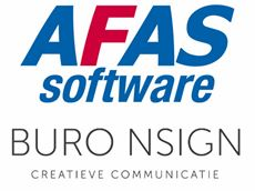 afas software logo buro n-sign logo